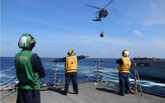 Marinha dos EUA na busca dos destroços do voo MH370: quatro anos depois, aeronave não foi encontrada