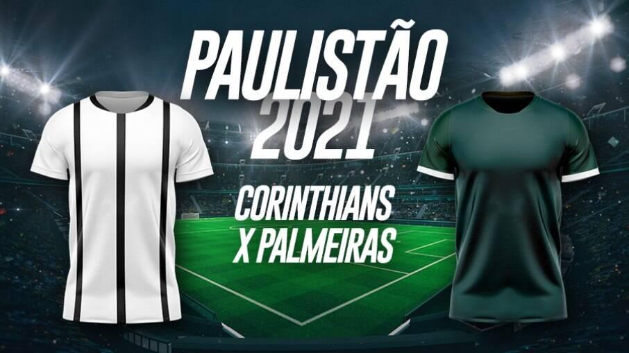 Palmeiras e Corinthians se enfrentam pelo Paulistão