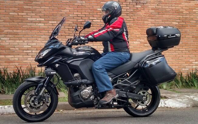 A Kawasaki Versys 1000 Grand Tourer ainda é a melhor motocicleta para longas viagens