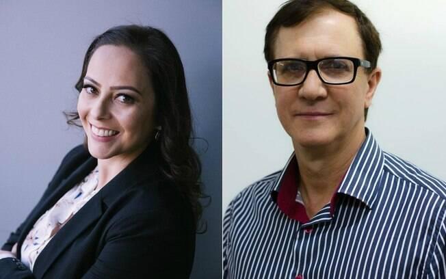Vanessa Javera e Jesuí Vergílio Visentainer: pesquisadores responsáveis pelo projeto
