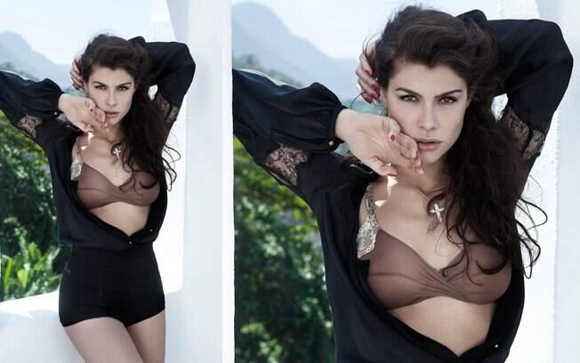 A atriz foi eleita a mais sexy de 2011