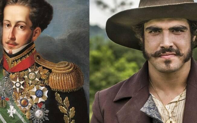 Parecidos? Caio Castro viverá Dom Pedro em ''Novo Mundo''