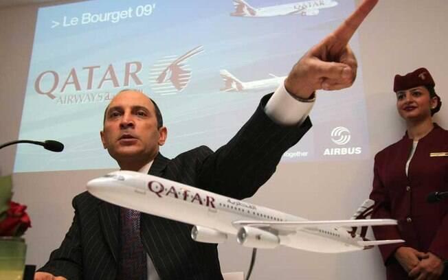 Akbar Al Baker deu declaração misógina logo após assumir o cargo de presidente do conselho administrativo da Associação Internacional de Transporte Aéreo