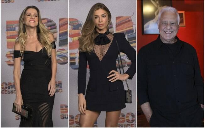 Ingrid Guimarães, Grazi Massafera e Antônio Fagundes estão no elenco principal de