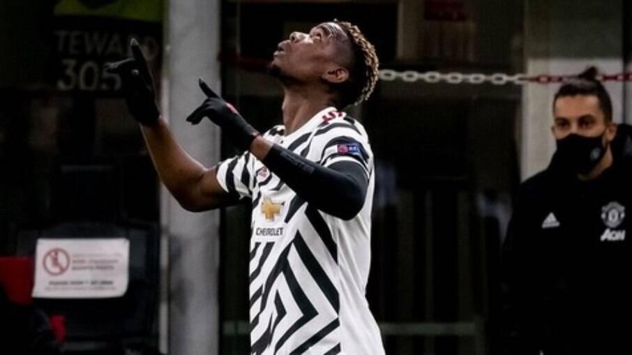 Pogba marcou o gol da classificação do Manchester United