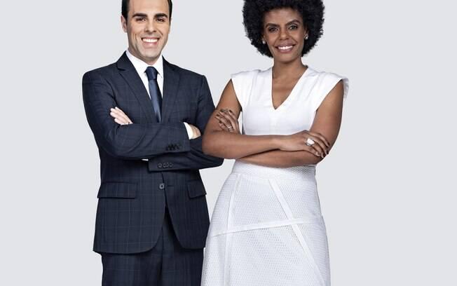Rafael Colombo e Cynthia Martins apresentam o novo