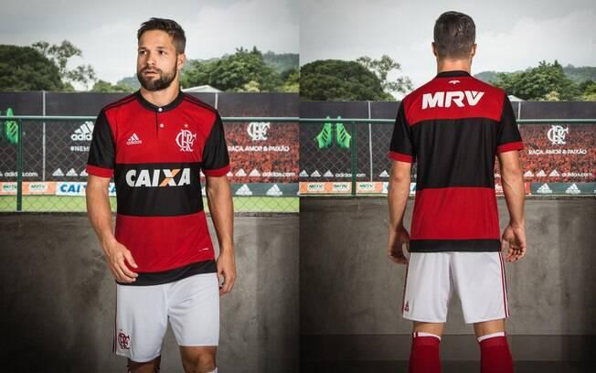 A camisa número 1 do Flamengo de 2017 foi escolhida como a segunda mais bonita do mundo por jornal inglês