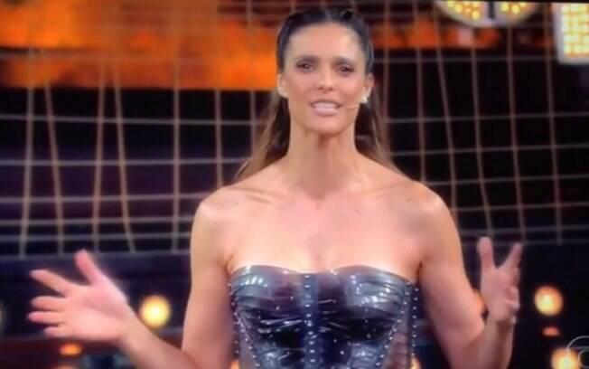 Discursos empoderados: Fernanda Lima fez um discurso que chamou atenção no programa Amor & Sexo, da Rede Globo