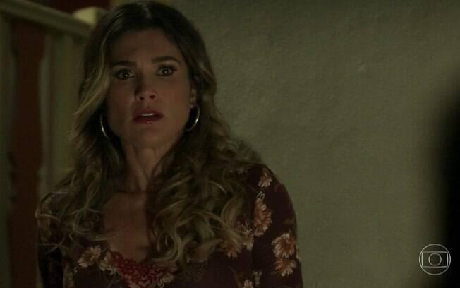 Rita de Cássia vai deixar a cidade após a morte de Machado em