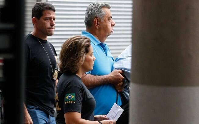 Acusado de integrar esquema de corrupção, presidente afastado da Alerj, Jorge Picciani (PMDB), foi preso por determinação do TRF-2