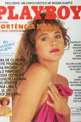Hortência, a Rainha do Basquete brasileiro, foi capa de Playboy em fevereiro de 1988. No Pan, ganhou a medalha de ouro em Havana-1991, a prata em Indianápolis-1987 e o br. Foto: Reprodução