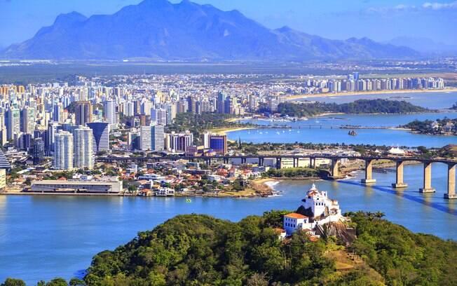 Conheça os principais pontos turísticos do Espírito Santo no trecho Vitória/Vila Velha para você conhecer em um dia
