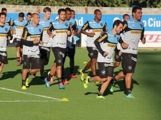Botafogo já se prepara para o grande jogo na Argentina