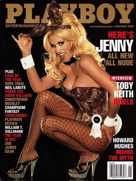 Jenny McCarthy já posou para a Playboy em 1994, 2005 e 2012