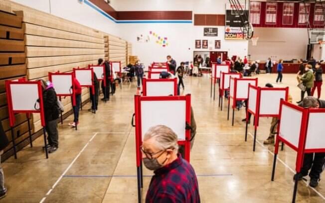 Local de votação em Louisville