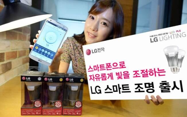 Lâmpada inteligente da LG conecta-se ao smartphone