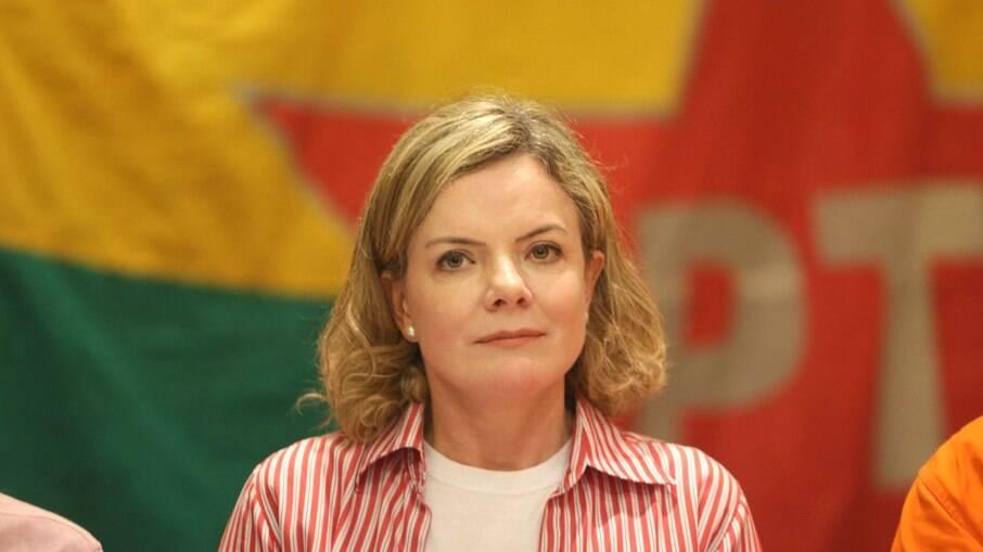 Gleisi Hoffmann (PT-PR), presidente nacional do Partido dos Trabalhadores