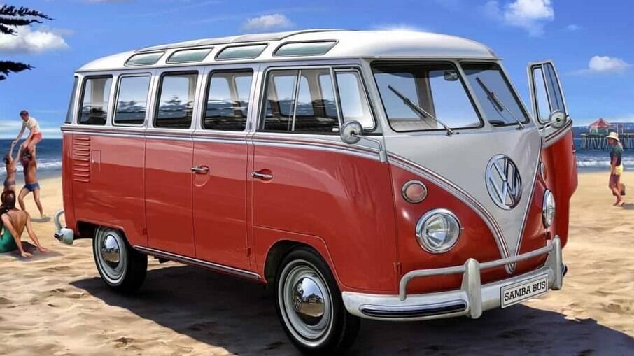 VW Kombi Samba: teto solar de tecido entre os itens exclusivos que não estiveram disponíveis no Brasil