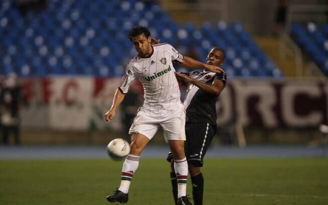 Fred e Renato Silva em lance da semifinal da  Taça Guanabara