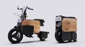 Empresa cria moto que pode ser estacionada sob a mesa do escritório