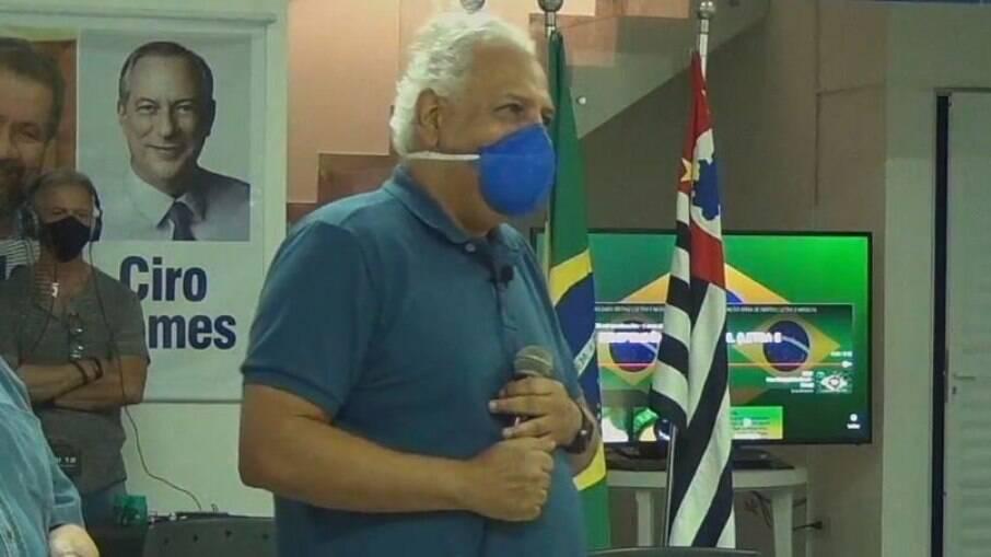 Dr. Hélio foi o candidato do PDT à Prefeitura de Campinas no ano passado.