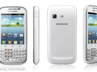 Galaxy Chat é celular básico da Samsung