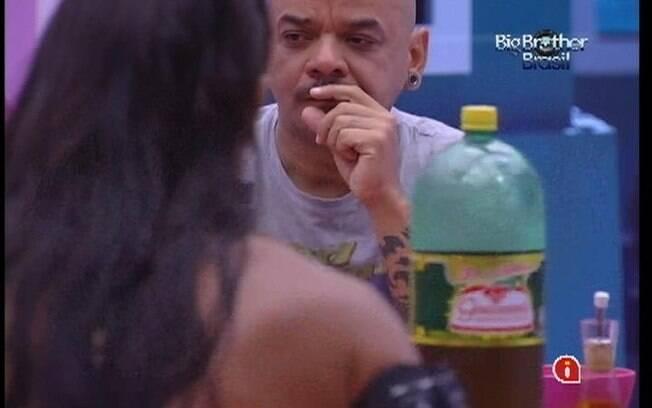 João Carvalho fala sobre ex-BBBs com os confinados