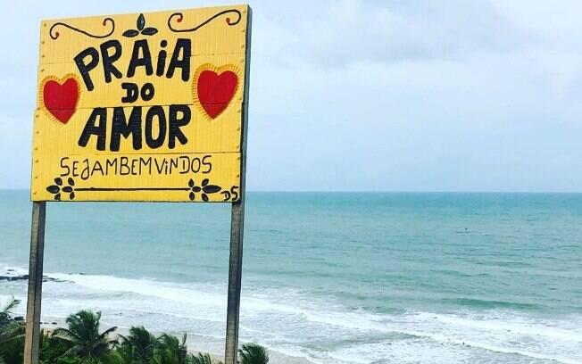 A Praia do Amor é famosa entre os casais que visitam João Pessoa, pois dizem que traz sorte no amor