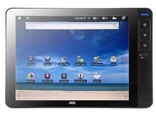 Tablet da AOC está à venda por R$ 700