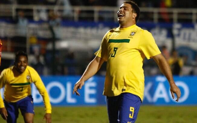 Ronaldo lamenta chance perdida