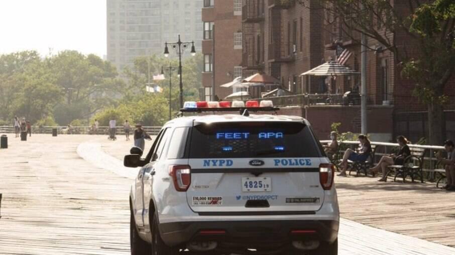 Viatura do Departamento de Polícia de Nova York