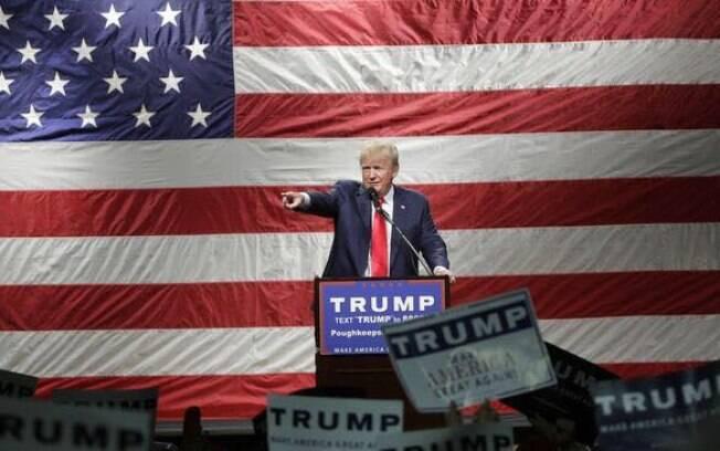 Se for eleito, Trump será um dos candidatos que menos gastou em sua campanha presidencial