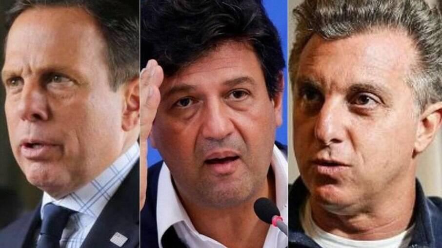 Doria, Mandetta e Huck assinam manifesto sobre ameaça à democracia