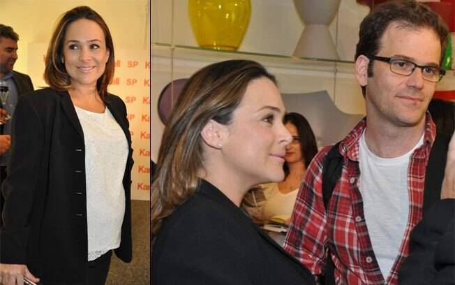 Gabriela Duarte com o marido Jairo Goldflus