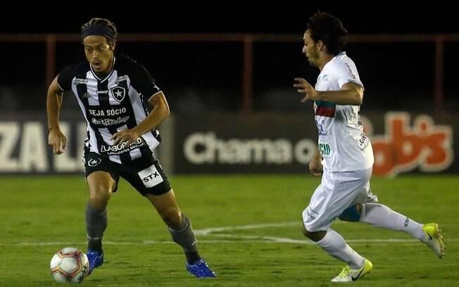 Botafogo segurou o empate