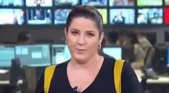 Christiane Pelajo se irrita e ameaça deixar jornal da Globo; veja