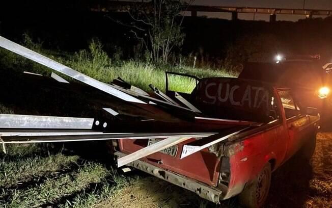 Sete homens são presos por furto de torre de alta tensão em Campinas