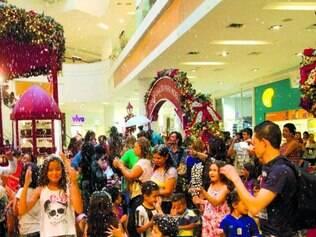 Parado. Lojistas reclamam das vendas, mas Boulevard tem recebido média de 180 mil pessoas por dia