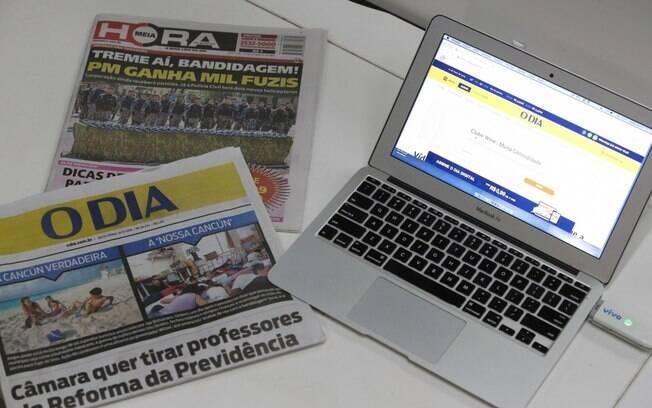 Os jornais complementam o digital e ajudam na performance da campanha