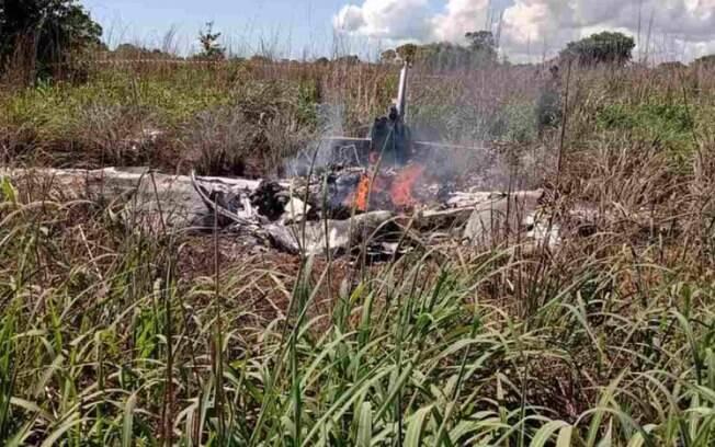 Presidente e quatro jogadores morrem em acidente de avião no Tocantins