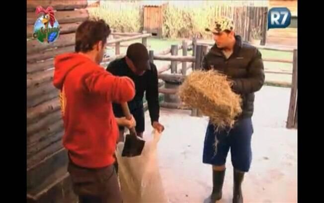 Marlon, Dinei e Thiago Gagliasso falam de Joana