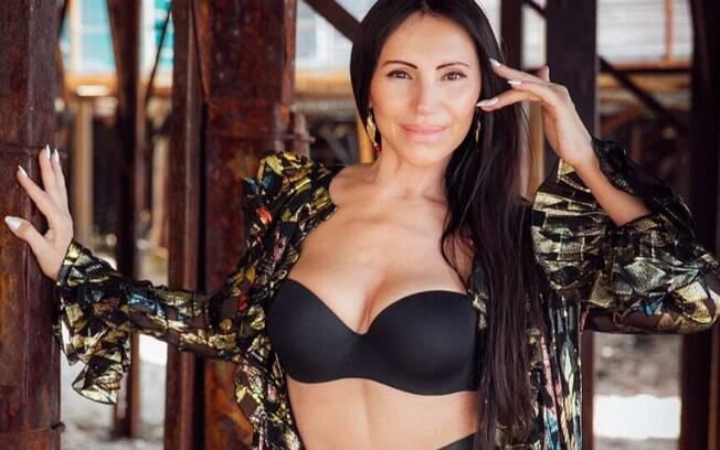 A ucraniana Svetlana Gass tem 60 anos e impressiona a todos por ter uma aparência mais jovem do que a verdadeira idade
