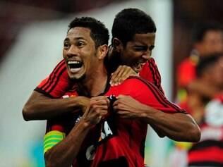 Hernane foi um dos destaques do tricampeonato do Flamengo