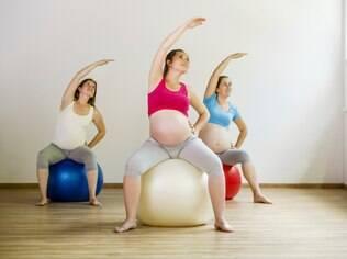 Pilates pode ser praticado durante a gradivez e também é recomendado no pós-parto