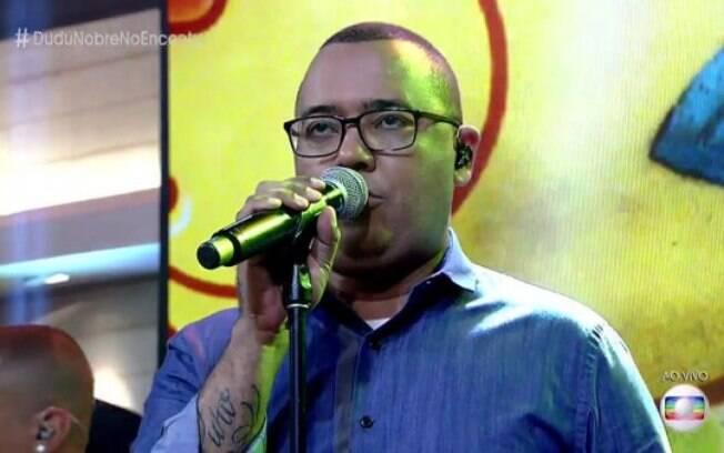 O cantor Dudu Nobre foi acusado de não pagar sua campanha política nas eleições de 2016