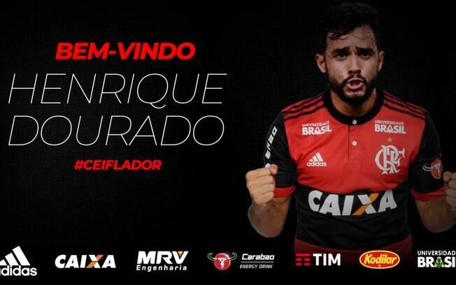 2936ebc8da Flamengo anuncia a contratação de Henrique Dourado