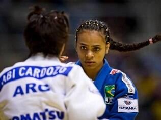 Na repescagem, Valentim conquistou o bronze depois de vencer a espanhola Laura Gomez
