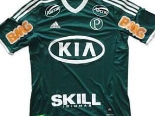 Palmeiras fecha patrocínio com multinacional para as omoplatas - Futebol -  iG c80af898e7e6f