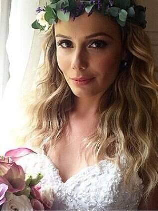 A noiva Graziella Schmitt