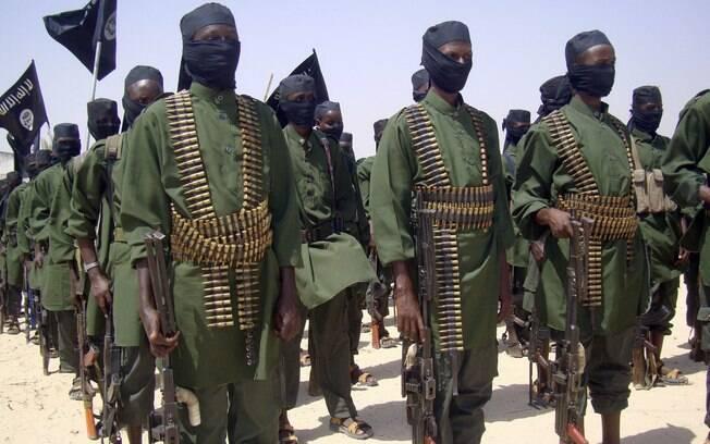 Na Somália, a Al-Shabab é a maior organização militante do país e foi fundada em 2006. Hoje atua com cerca de US$ 70 milhões ao ano. Foto: AP
